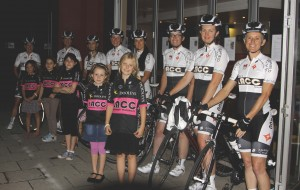 The LACC Women's team and junior Pixies.