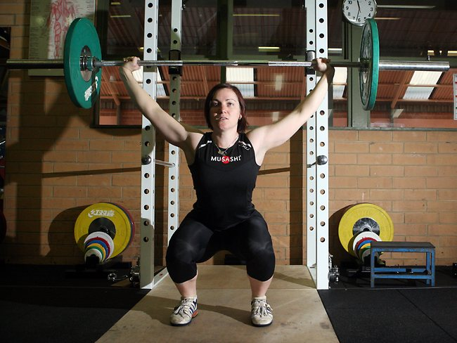 Anna Meares weights