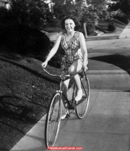 A young Judy Garland