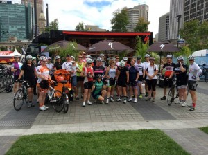 Wheel Women Adelaide ride 2