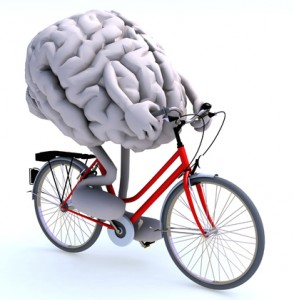 how cycling affects the brain