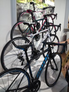 Scott women's road bikes - a nice range of women's specific bikes and gear.
