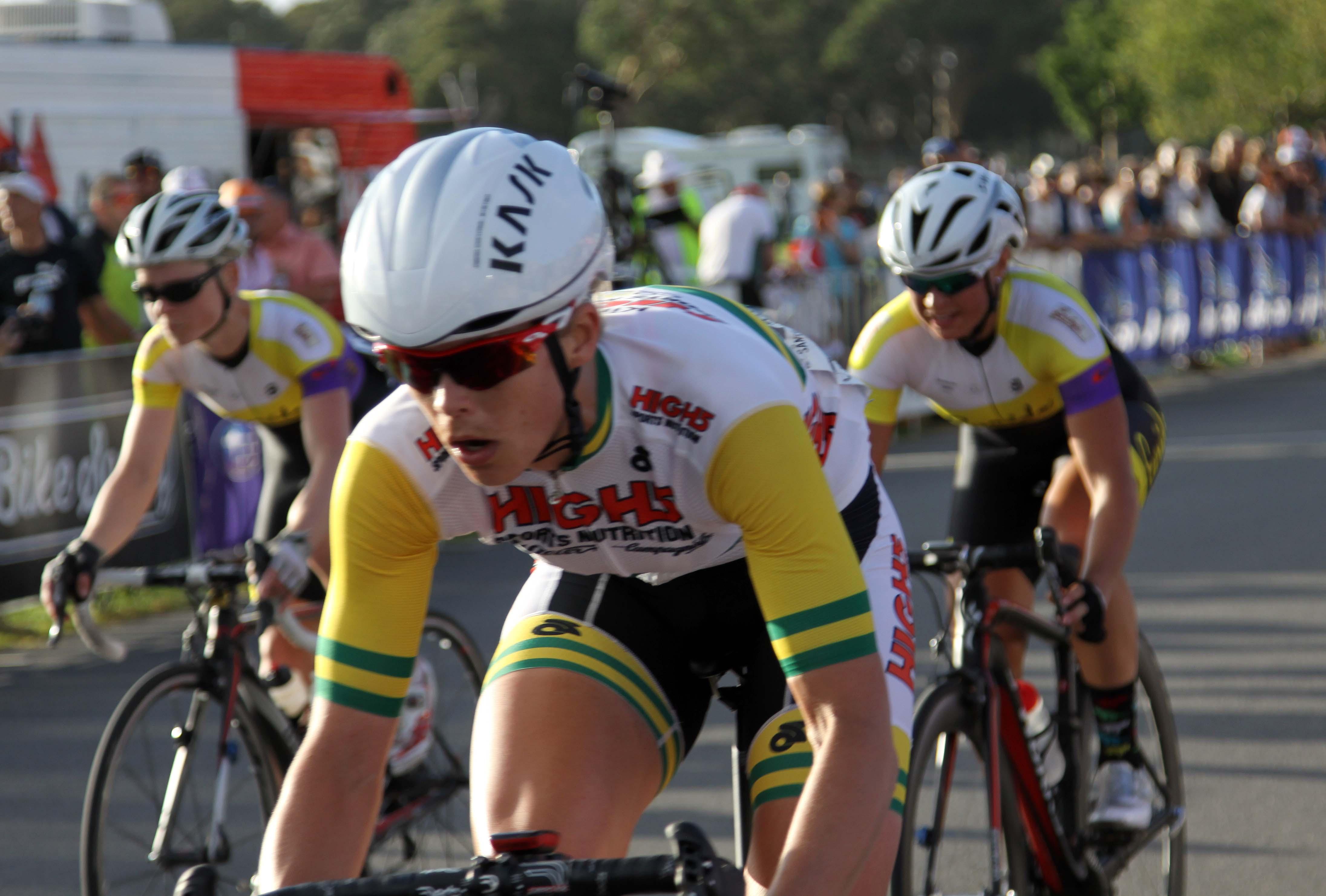 female pro cyclist