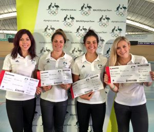 women's cycling team for Rio