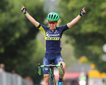Pro Cyclist Amanda Spratt