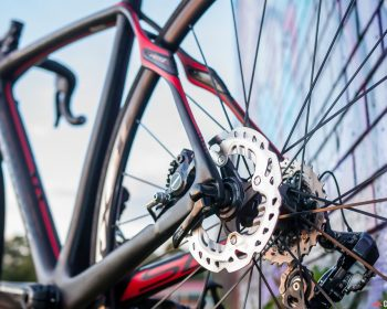 Road bike disc brakes