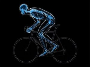 Cycling is bad for bone density