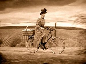 Great movie scenes with women riding bikes