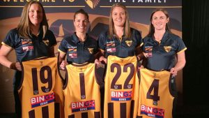 from professional cyclist to AFL player