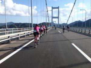 riding the Shimanami Kaido