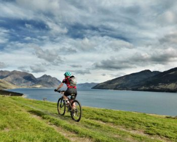 cycling adventure in New Zealand