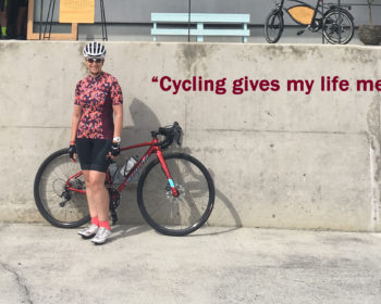 Cycling give my life meaning