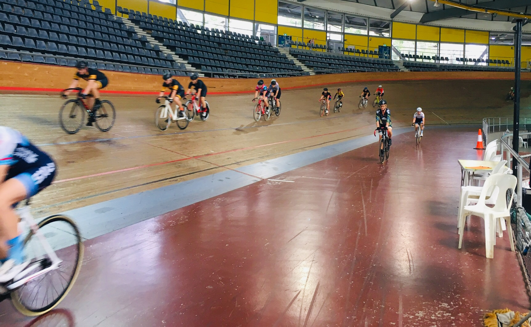 try track cycling